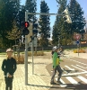 Dopravní hřiště Lanškroun 4.B 21.4.2015