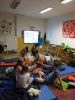 Přespávání ve škole 8.A - 22.6.2015
